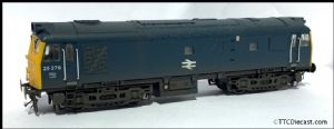 Bachmann 32-401DC TTC A Class 25 25279 BR BLUE - Expertly Weathered by ABC Workshops